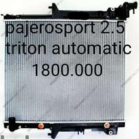 Radiator mesin triton pajero sport 2.5 matic