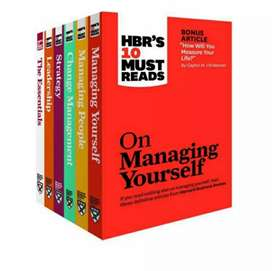 HBR'S MUST READ: 6 set books [eBook]