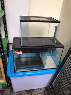 Kandang reptil aquarium gex dan nikita dan container cb 150