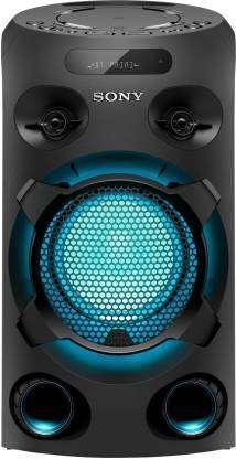 Sony MHC-V02 with LED Light & Karaoke Bluetooth Party Speaker  (2.0)
