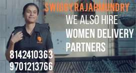 SWIGGY MALE AND FEMALE DELIVERY EXECUTIVES