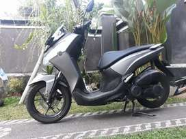 Yamaha Lexi 2018 warna abu Bali Dharma motor