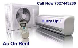 Hi, Window Ac Available On Rent