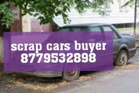 We buy old junked scrap car's