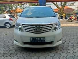 Toyota Alphard G 2.4 ATPM Pilot Seat 2011 N tgn 1 Pajak Panjang