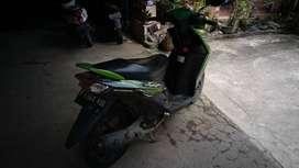 Di jual  cepat motor Mio soul warna hijau