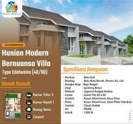 Hunian Dengan Konsep Perumahan Modern Bernuansa Villa