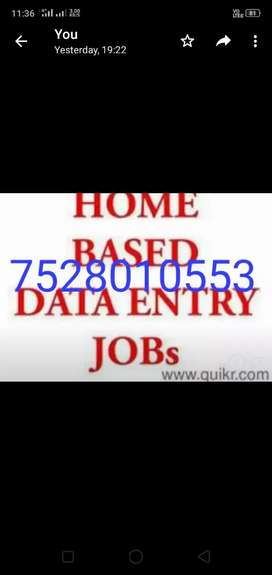 Just join home based job and get income