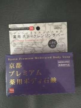 Sabun whitening body asli Jepang Kyoto body