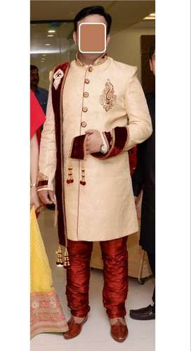 Excellent Condition Branded Jodhpuri Sherwani & Pajama XL 42 Size
