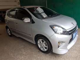 Agya TRD mt 2015 (D) 2016 / 2014 silver tt brio ayla march mirage
