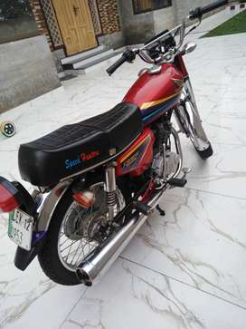 Honda CG125 2012 Model Genuine And Excellent Condition
