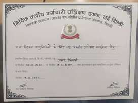 I am proficient in hindi stenography