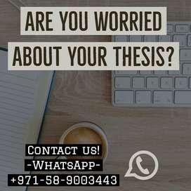 Academic Writing / Thesis writing / Assignment writing / proofreading