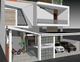 Jasa arsitek renovasi rumah modern tropis tangerang