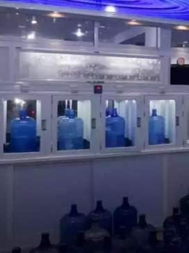 Air isi Ulang , Depot galon 3 pengisian + cuci