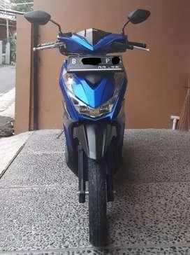 Gress low km banget Honda beat iss 2020 biru masih baru