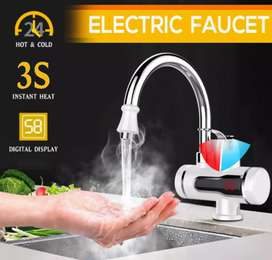Electric Tap Hot Water Heater Instant For Home Bathroom or Kitchen