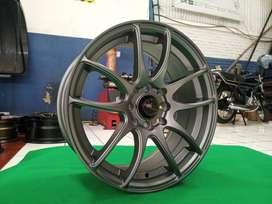 free ongkir pelak KAMIKAZE JD8063 HSR R16X7 H8X100-114,3 ET42 grey