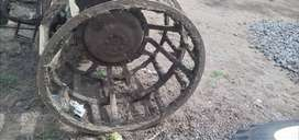 Iron wheels for Tractor used only 2 months