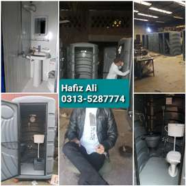 Containers, Portable toilet,washrooms,prefab room,porta cabins,guard .