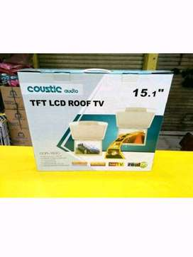 Audio mobil Roof Plafon COUSTIC audio tft lcd roof Tv 15.1in