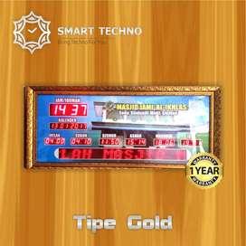 Banyak Dicari Jam Digital Masjid Tipe Gold Exlusive Product `abs`