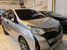 Toyota Calya G Manual Tahun 2019 pemakaian 2020 Tangan pertama Mulus