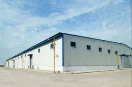Prefabricated Warehouse, Industrial Shed