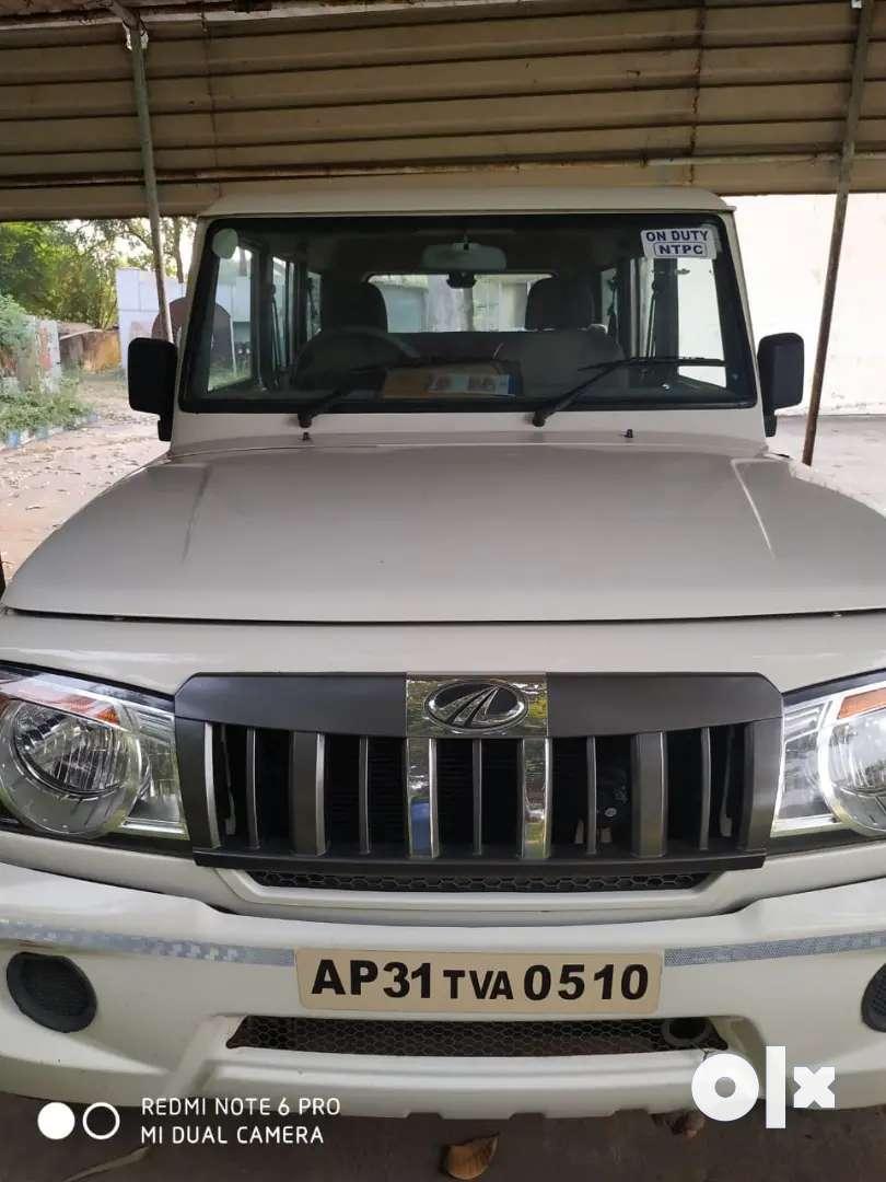 Mahindra Bolero Power Plus 2018 Diesel 70000 Km Driven yellow board