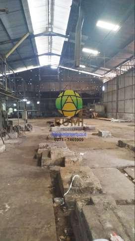 Pabrik siap pakai lokasi karanganyar
