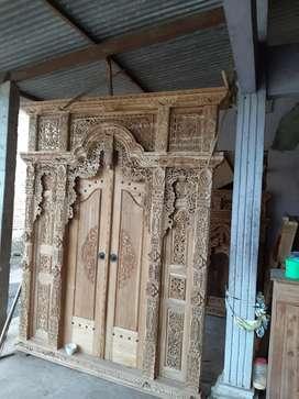 cuci gudang pintu gebyok gapuro jendela rumah masjid musholla novi