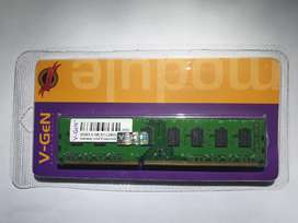 DDR3 4 GB PC-12800 V-GEN