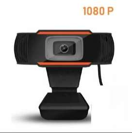 Webcam 1080p with Built In Mic Square