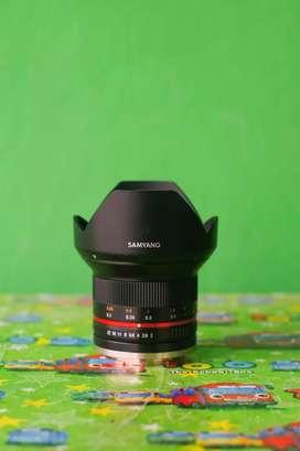 Lensa Samyang F 2 for Sony e mount