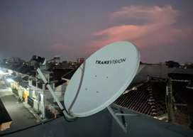 Gebyar parabola Transvision HD resmi Buleleng paket murah free HBO