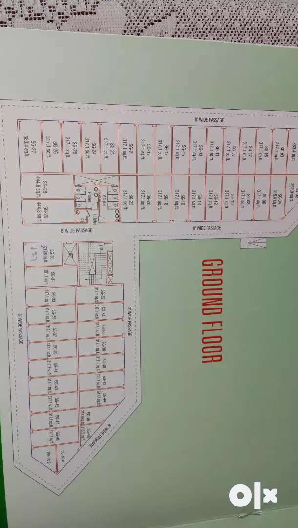 45 lakh all incl  ground floor. 0