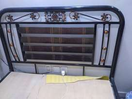 50 x 70 inch Metal Bed for sale