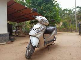 TVS wego white 2011 Model - Km driven 23500