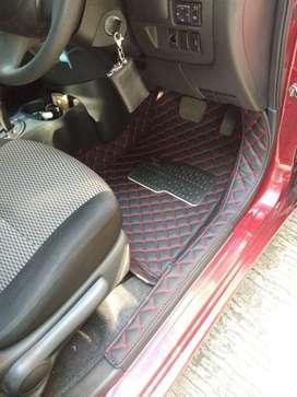 JT Karpet mobil kulit for Nissan march Th 2011-2017 full bagasi