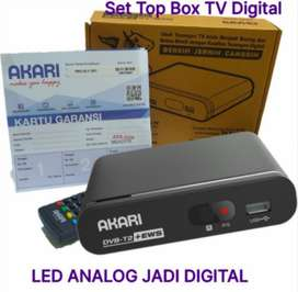 Akari Set Top Box TV Digital Receiver STB DVB-T2 ADS-2230 ADS 2230