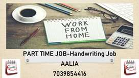 HANDWRITING JOB (English WRITING WORK)-PART TIME JOB