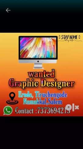 Wanted Creative Graphic designer
