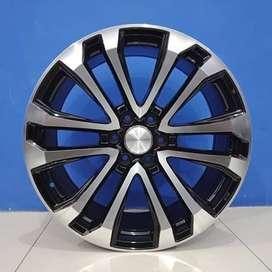 Cicil Velg Mobil Pajero Sport DP 10% Ring 22 HSR THINK H6X139,7 BMF