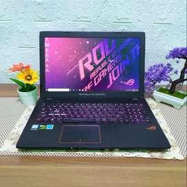 Laptop ASUS ROG i7 RAM 16GB HDD 1TB bekas second