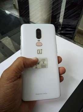 OnePlus 6 Silk White 128GB Storage, 8GB RAM