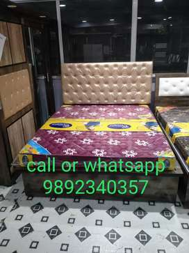 EMI PE BRAND NEW QUEEN SIZE BED WITH HUGE STORAGE @ 8999