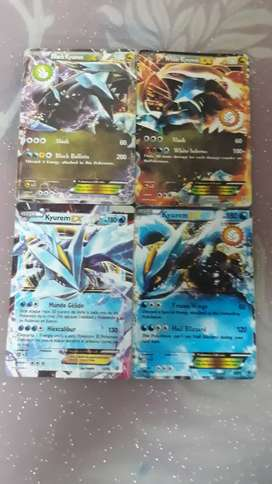 All the stages of Kyurem EX