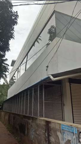 Parippally junction 2.50 cent plot and 1500 sqft shop for sale