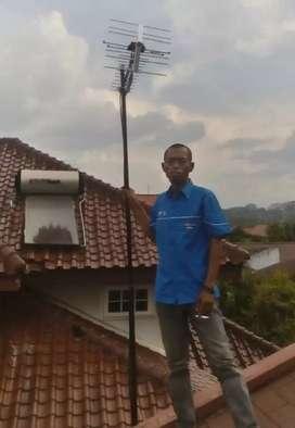 Pemasangan antena uhf Tangerang